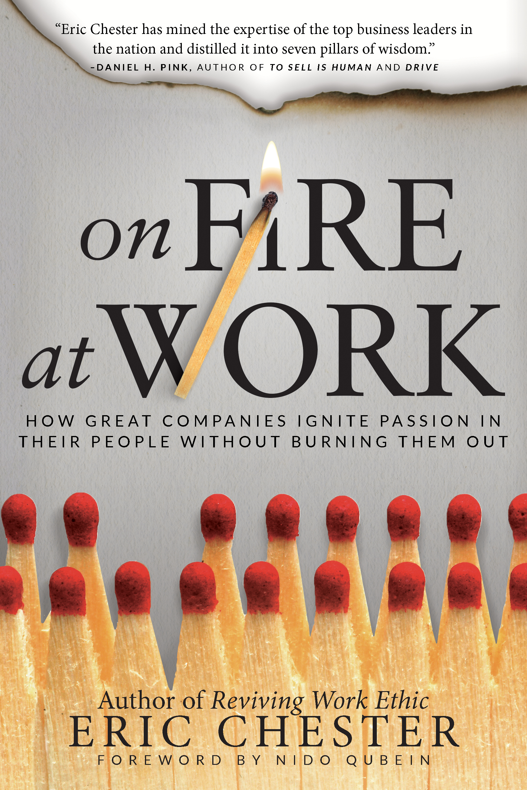 On Fire at Work - By eric chester