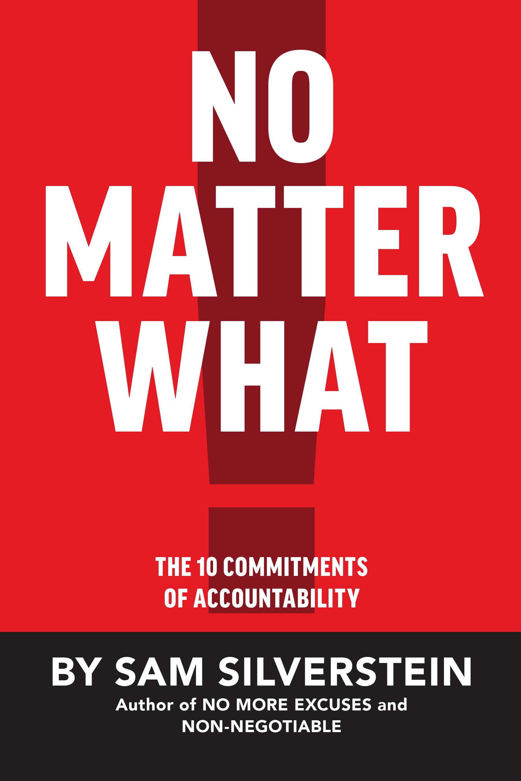 No Matter What - By Sam Silverstein