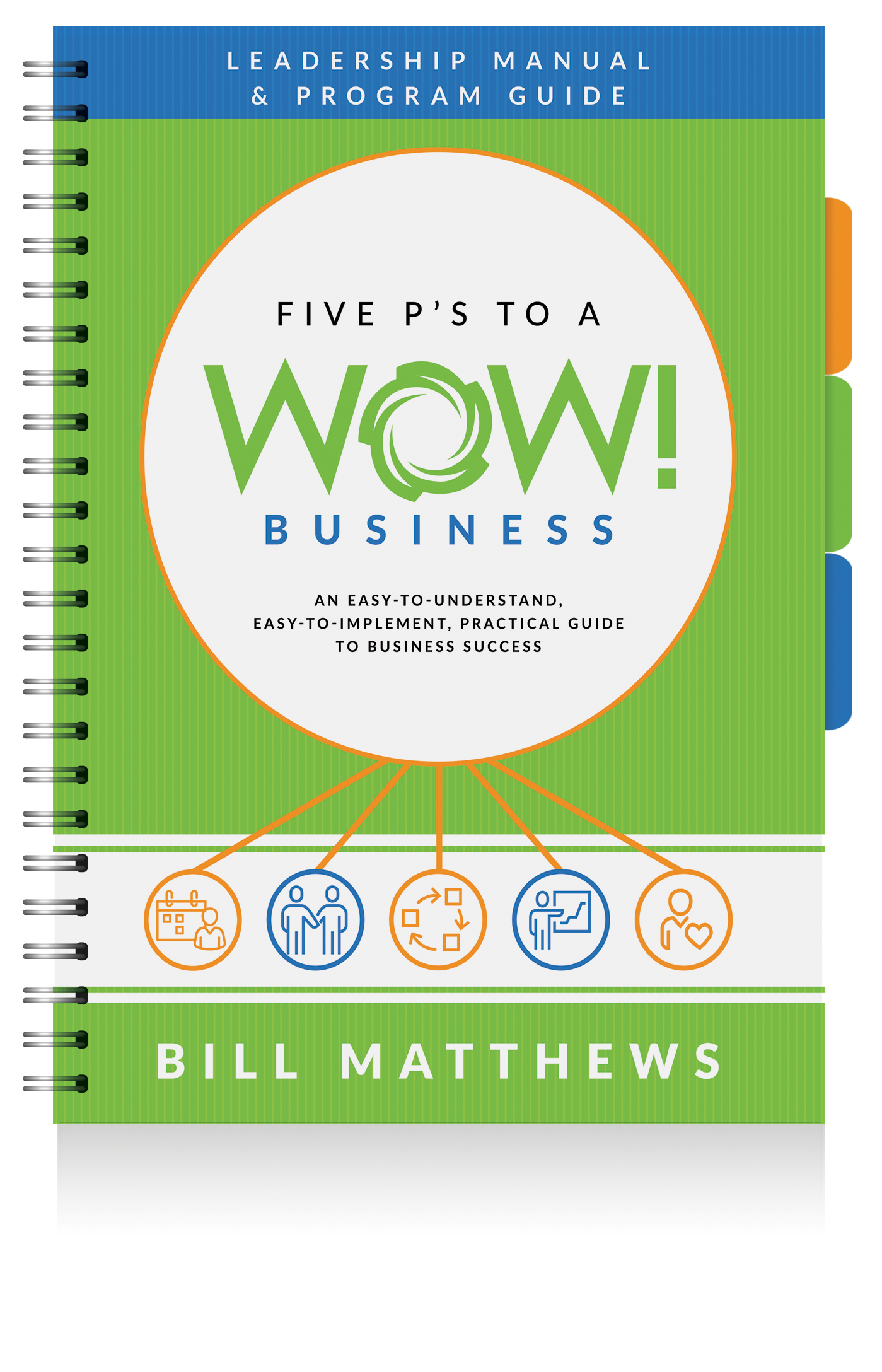 Five P's to a Wow Business Leadership Manual & Program Guide - By Bill Matthews