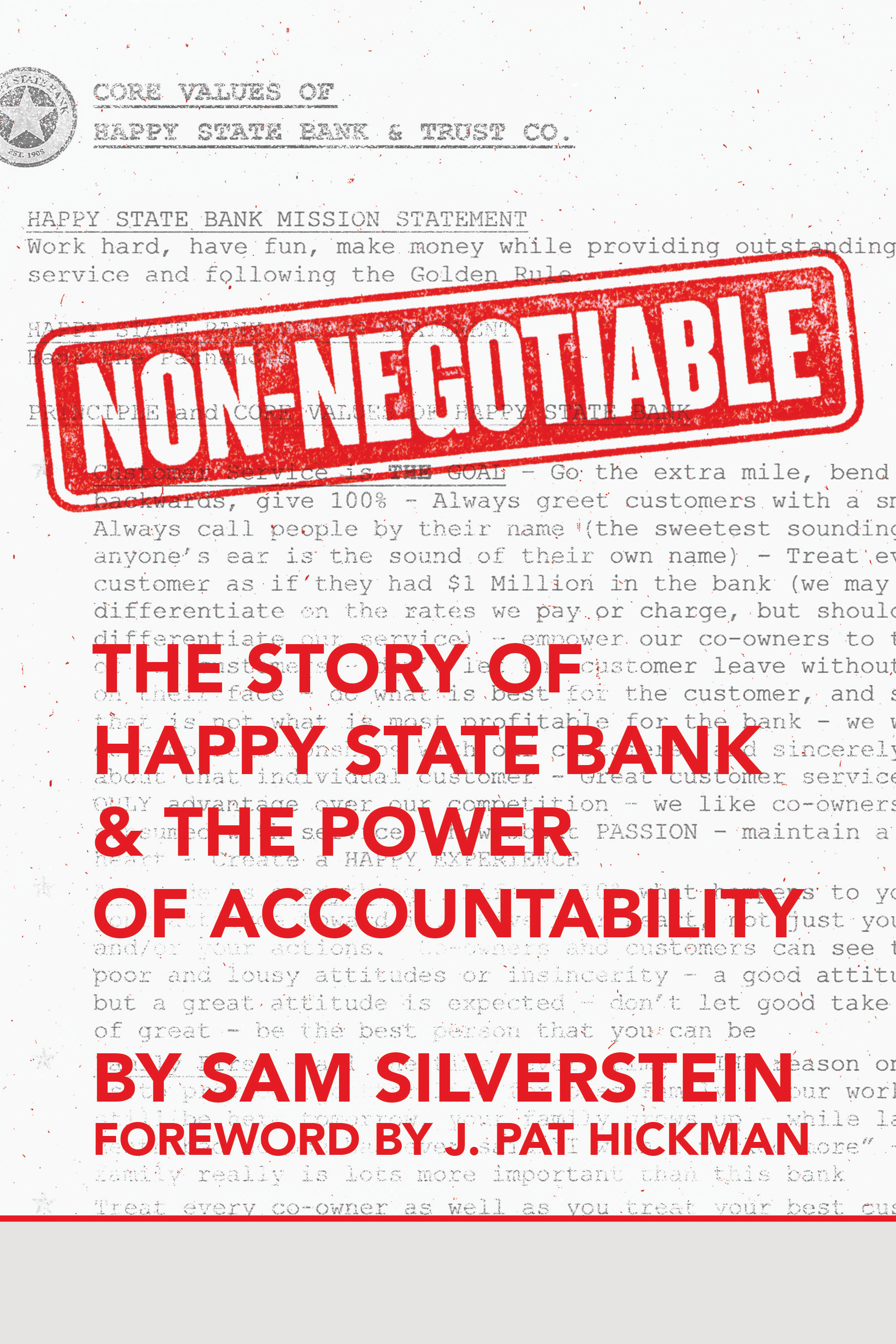 Non-Negotiable - Sam Silverstein