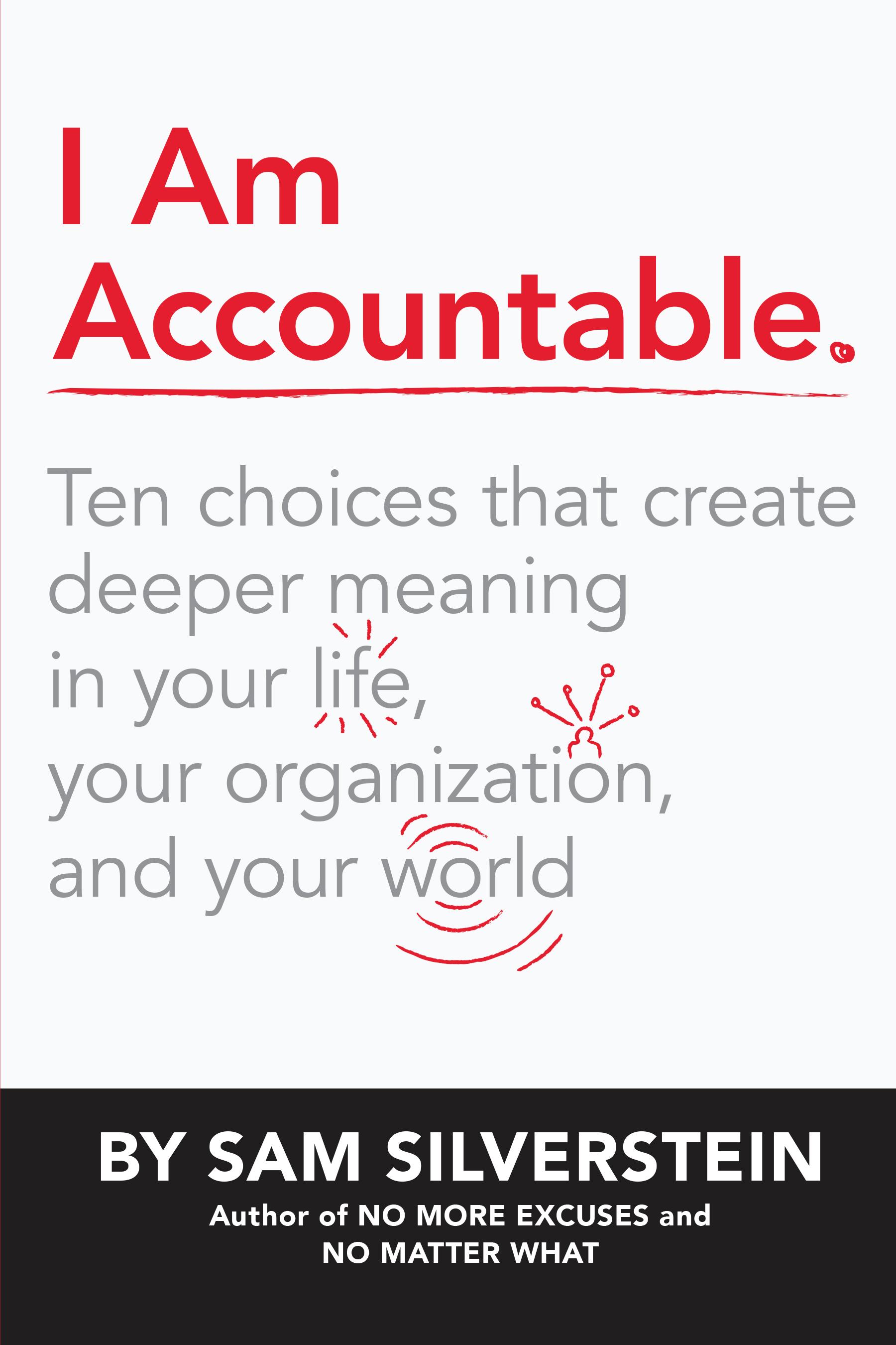 I Am Accountable - By Sam Silverstein