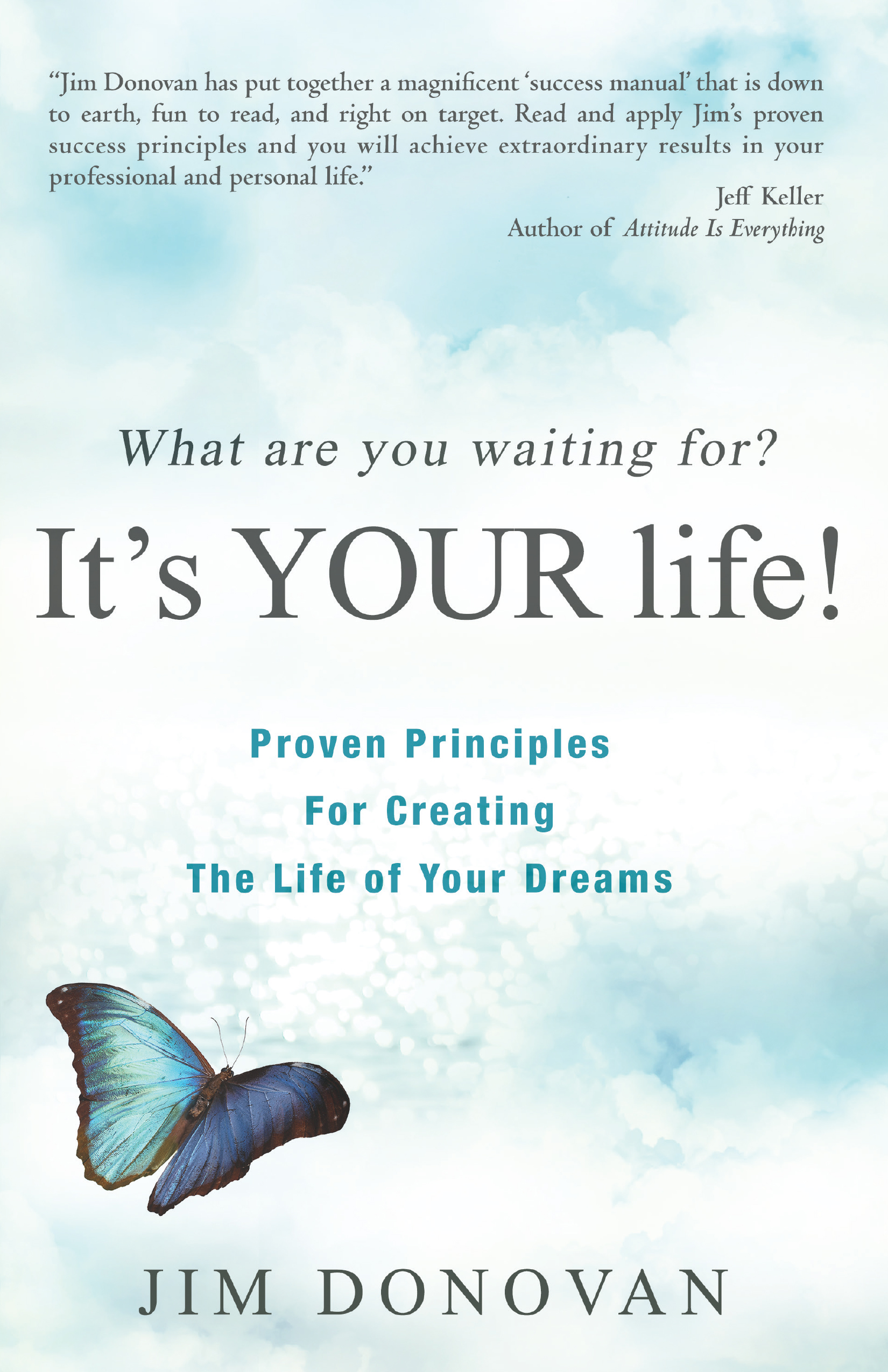 What Are You Waiting For? It's Your Life! - Jim Donovan