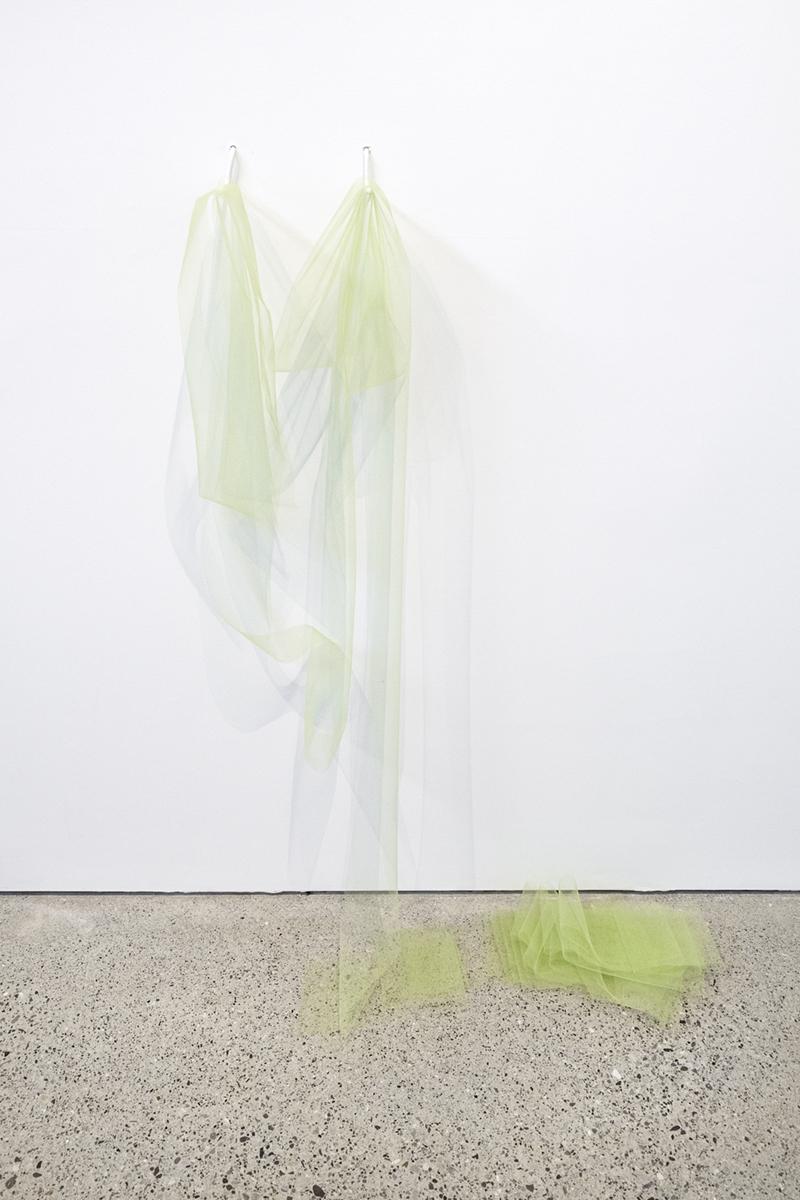 uncoiled no.3, vintage textile, 2017