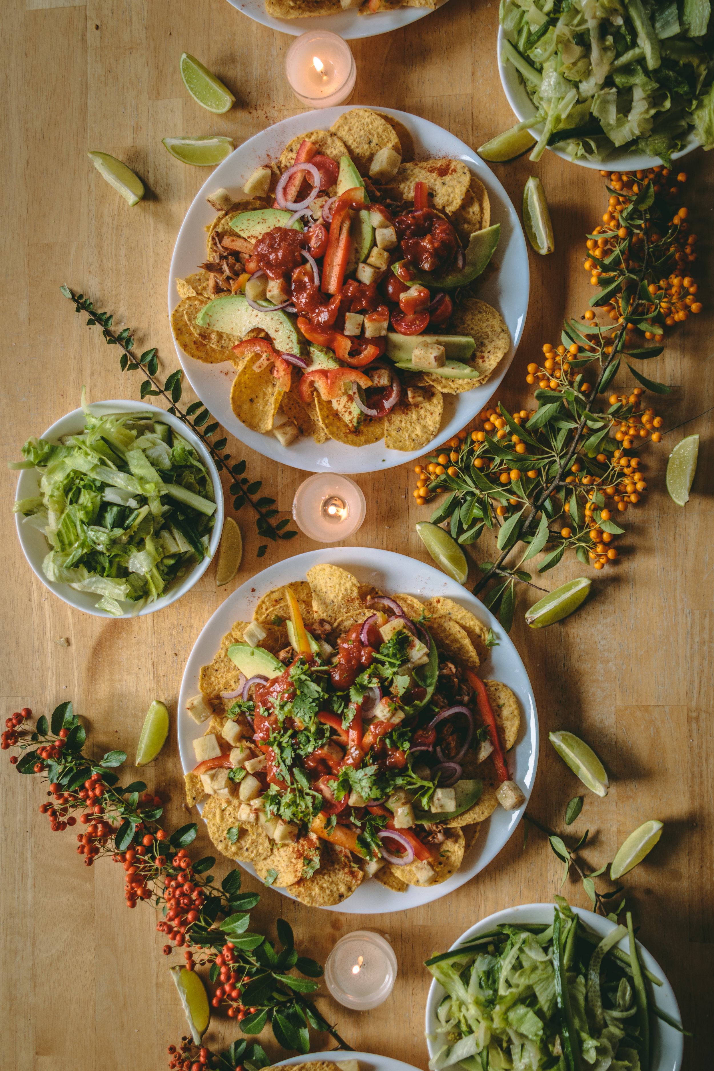 Vegan Nachos - Prepared by Lisa Forbes