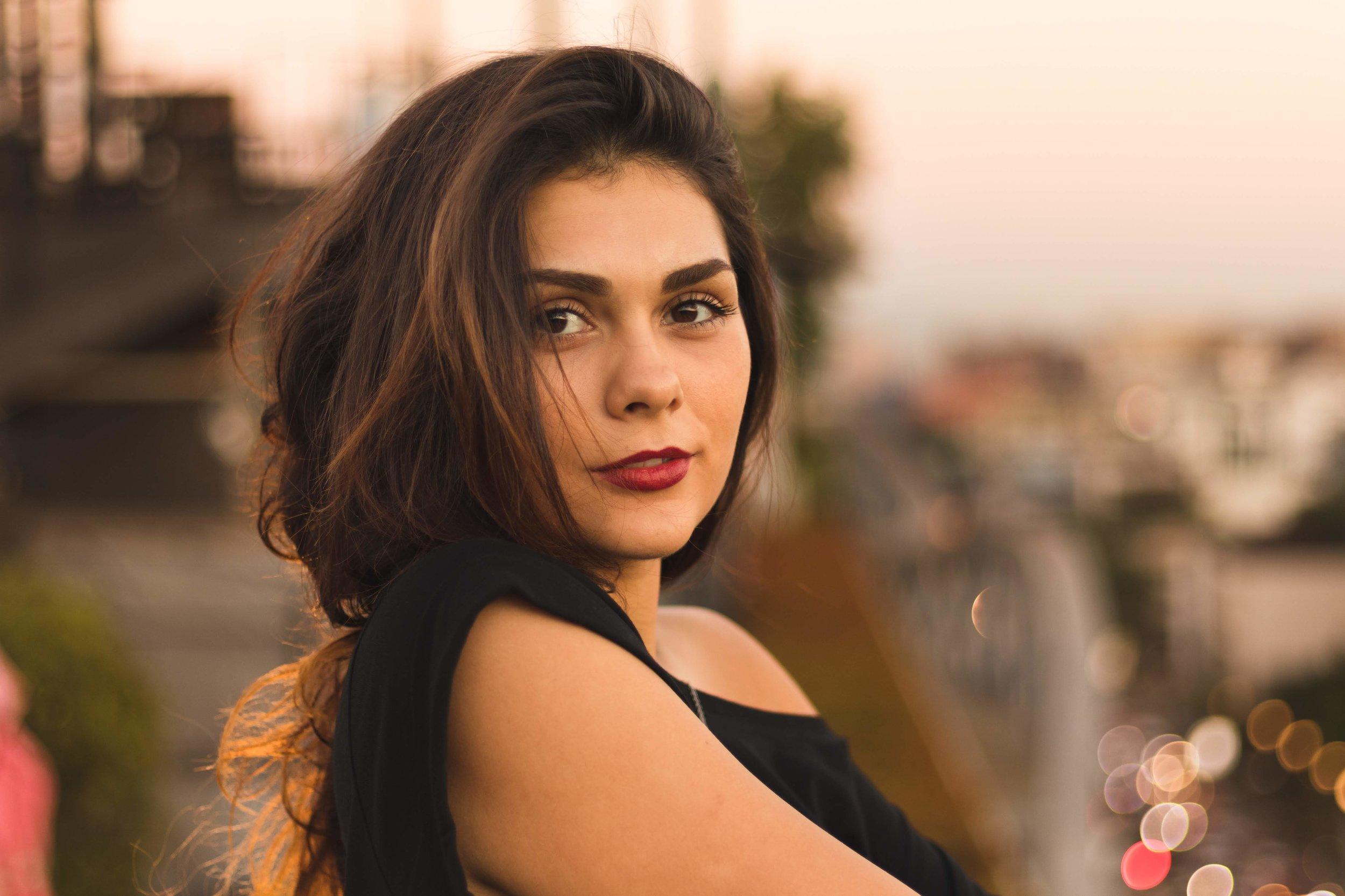 Portrait Session - Model : Yanina Kondratiuk