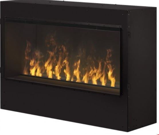 Opti-myst Pro 1000 Built-in Electric Firebox - Easily turn fireplace design concepts into reality with the Opti-myst Pro 1000 Built-in Electric Firebox. Install as a single-sided unit, or remove the included backer panel and convert to a see-through design that opens the view between rooms. The discrete heater completes the functionality and ensures perfect comfort in addition to the dazzling Opti-myst flame and smoke effect.