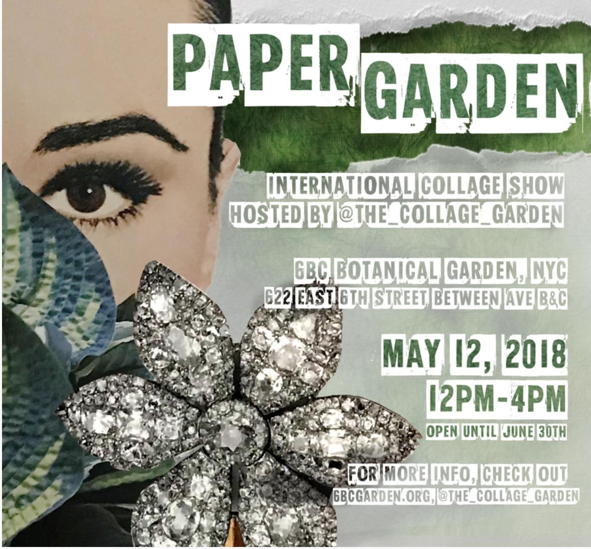 Collage Garden Flyer