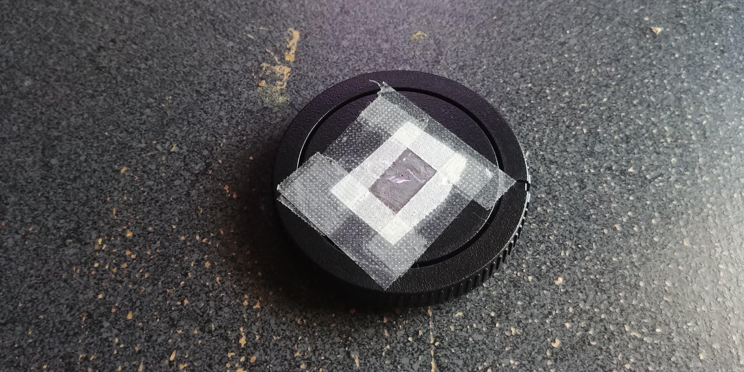 "My DIY pinhole ""lens"""