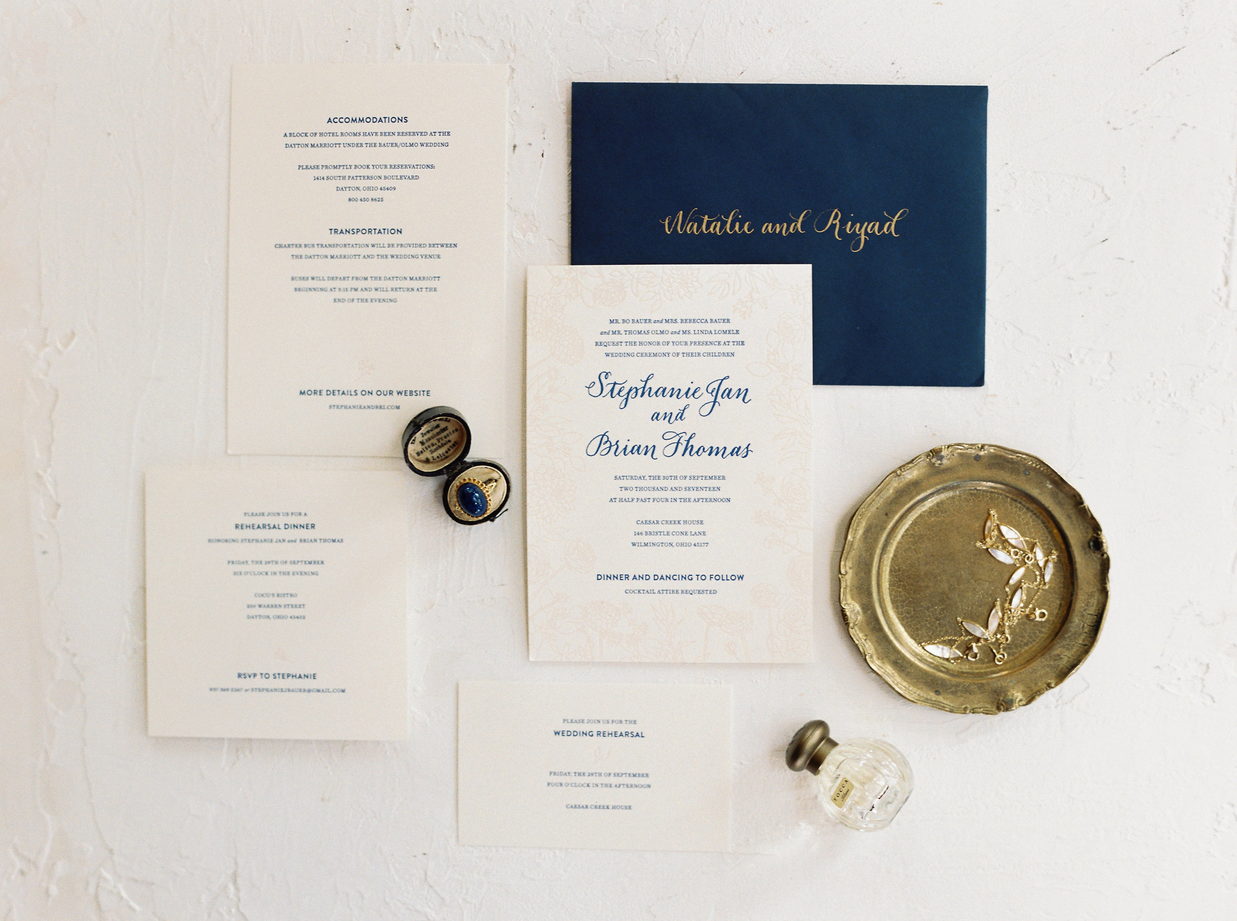 - Invitation Design: Bethany Lesko |  Styling and Photography: Jenny Haas Photography