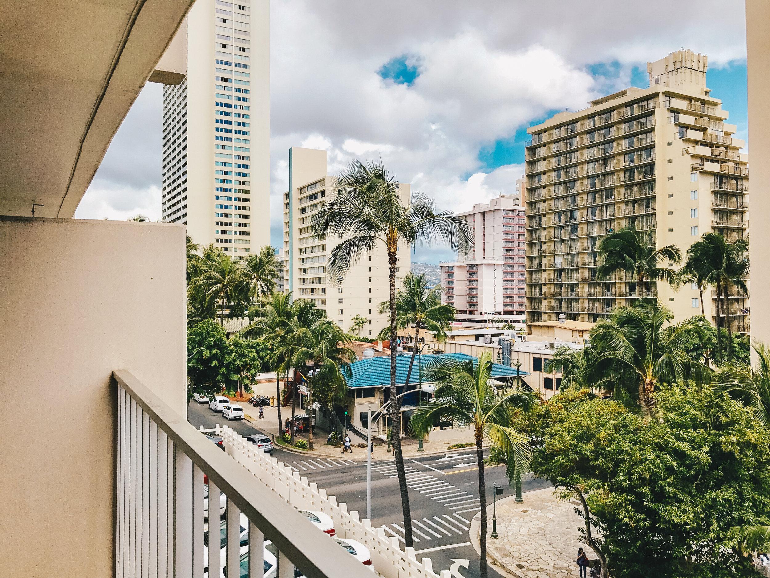 Taken at an  Airbnb  in Honolulu, Hawaii.