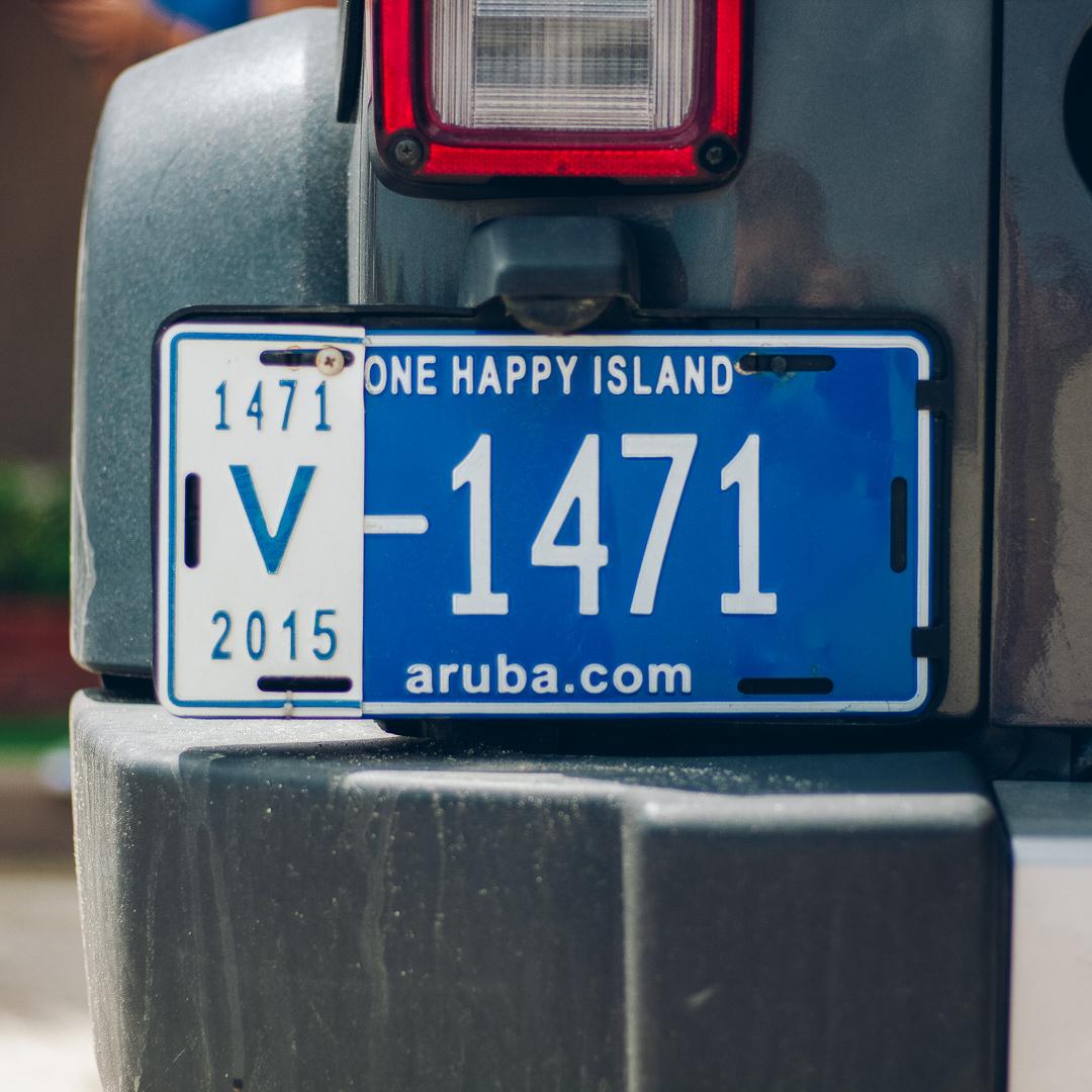 aruba_license_plate