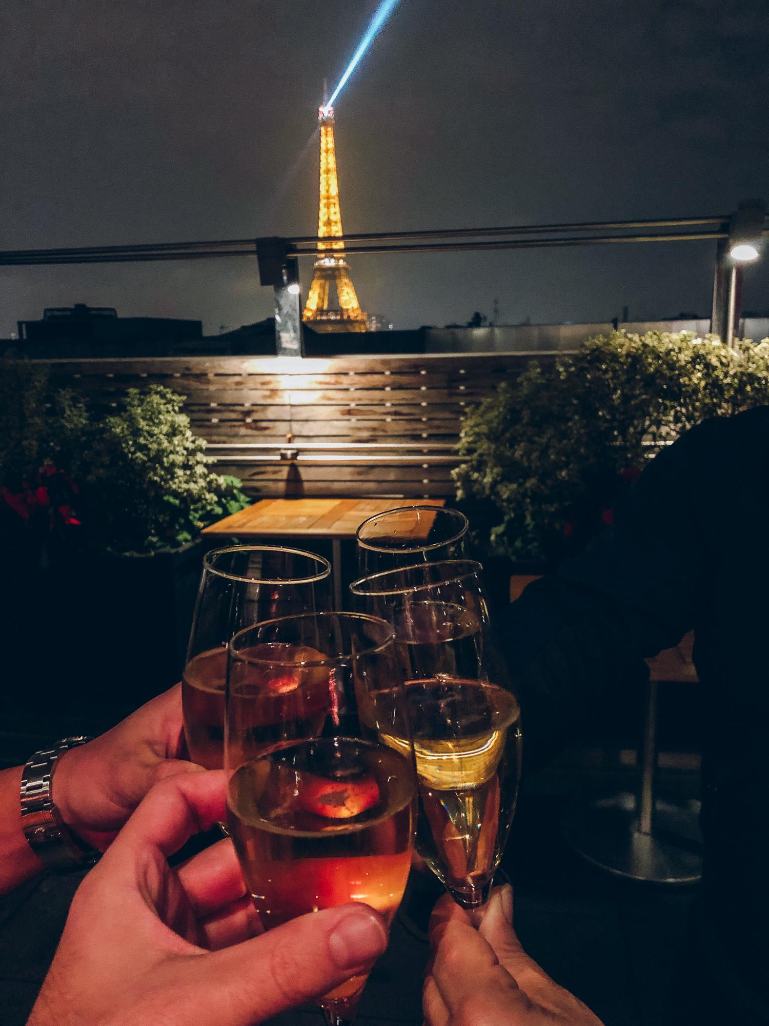 View from La Maison de Blanche.