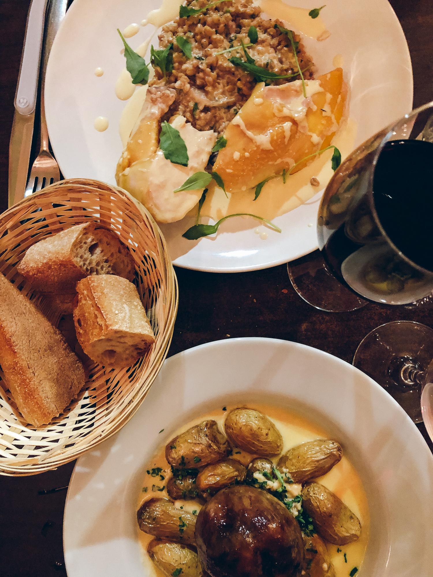 Dinner at La Table de Genevieve.
