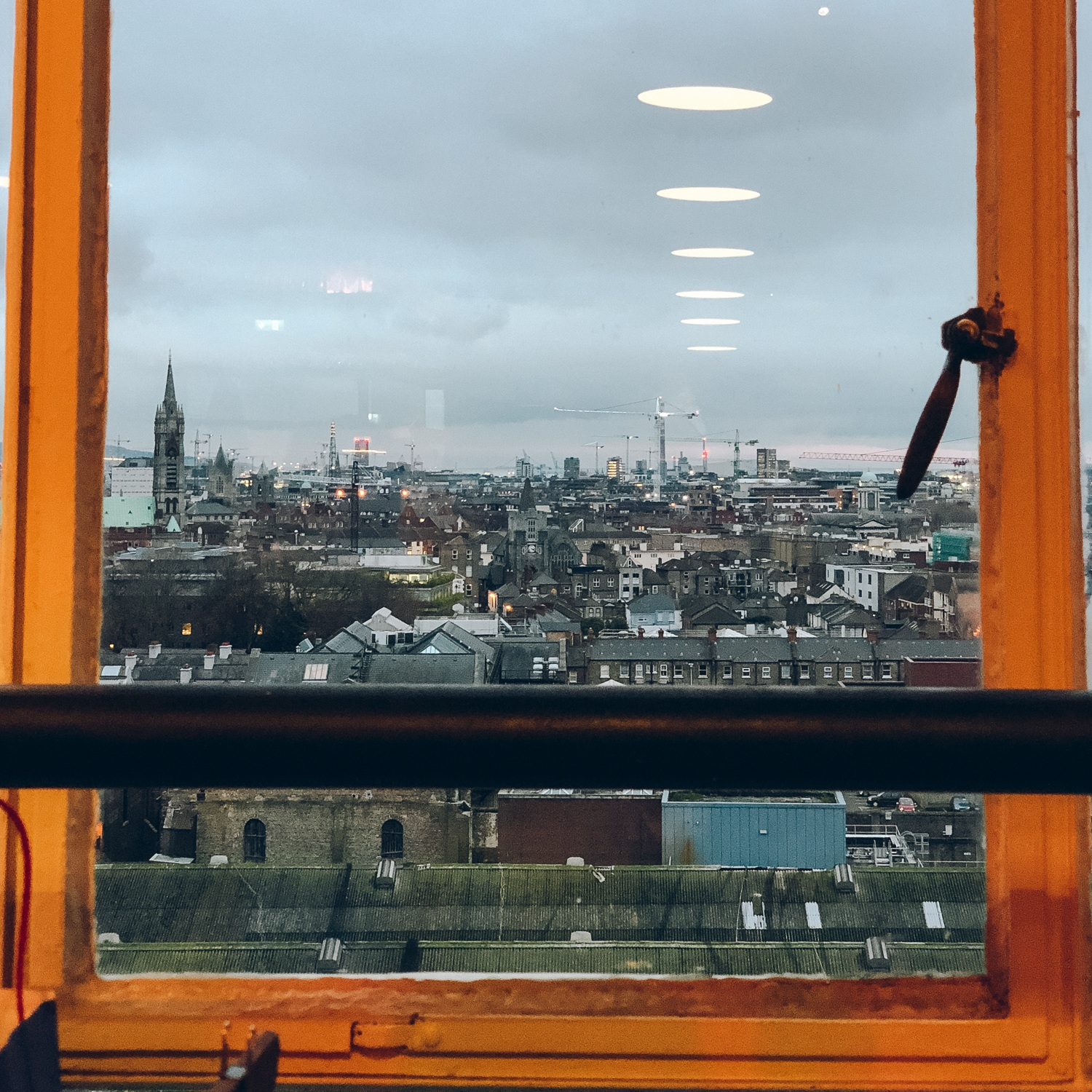 View from the Guinness Storeroom