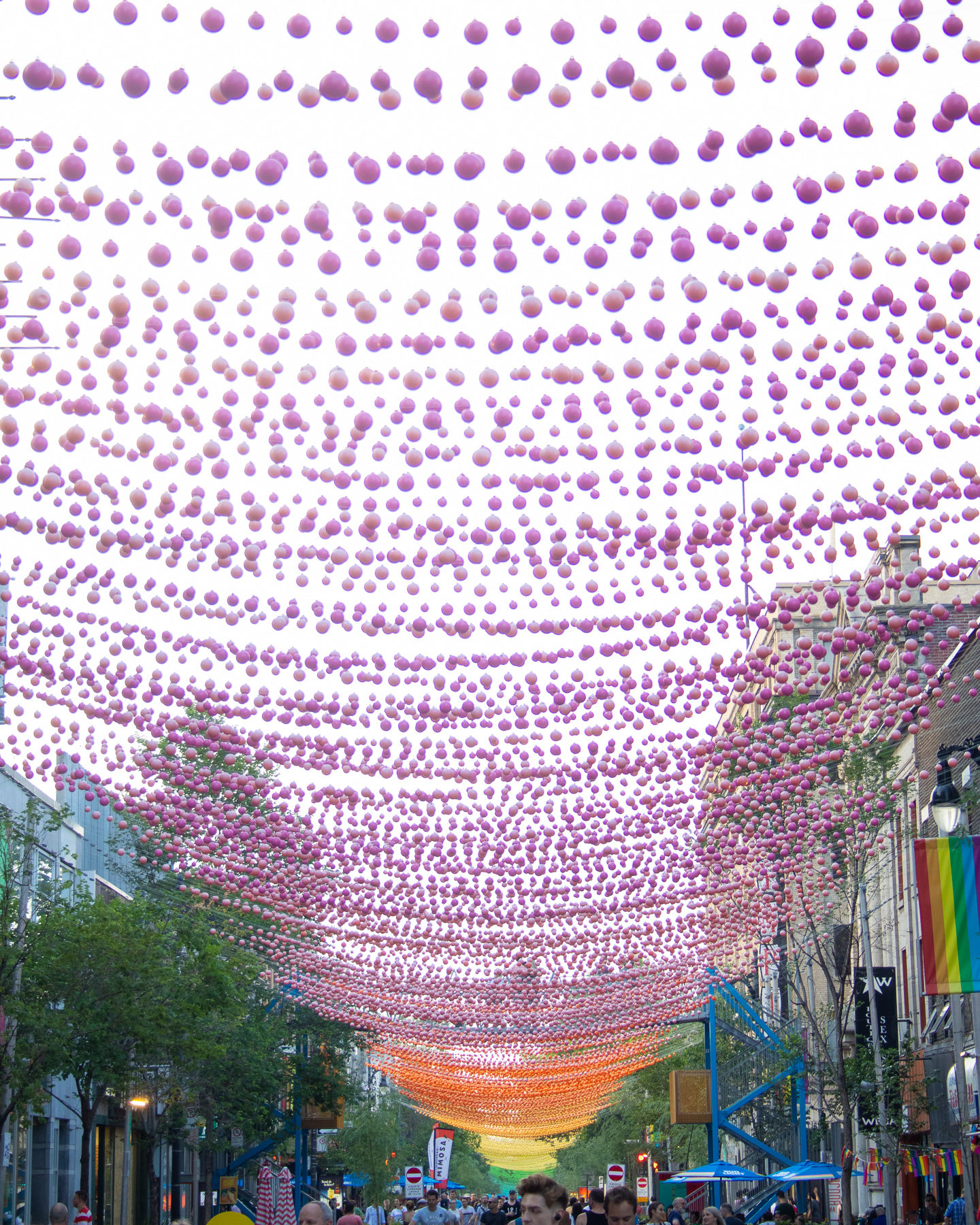 Gay Village had lots of balls.