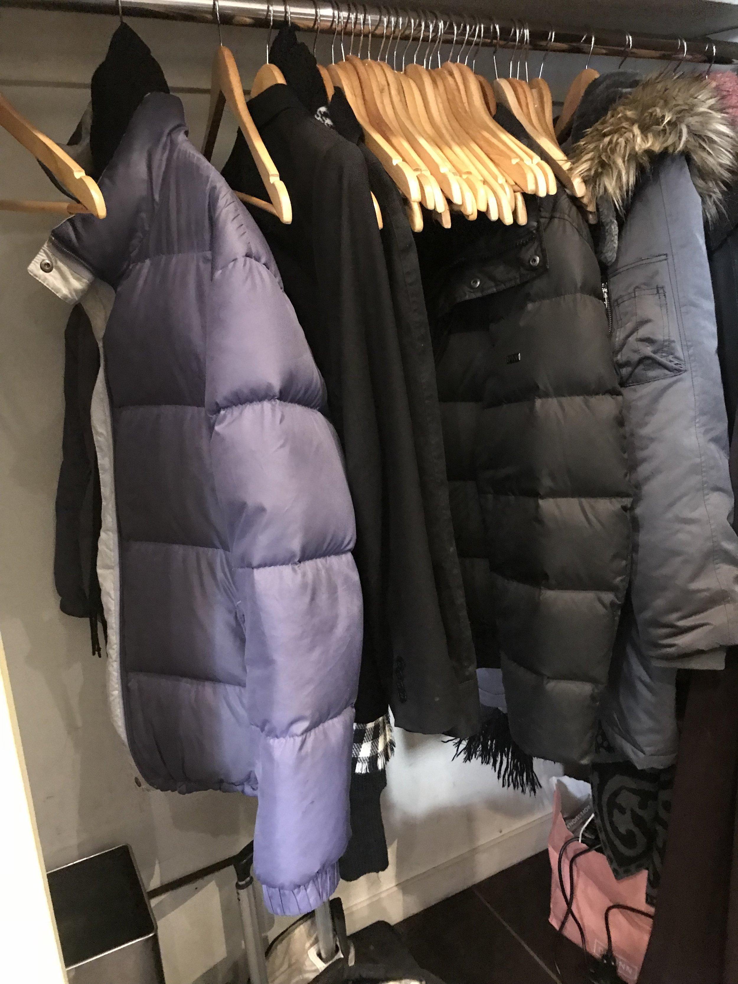 Power to my purple puffy coat