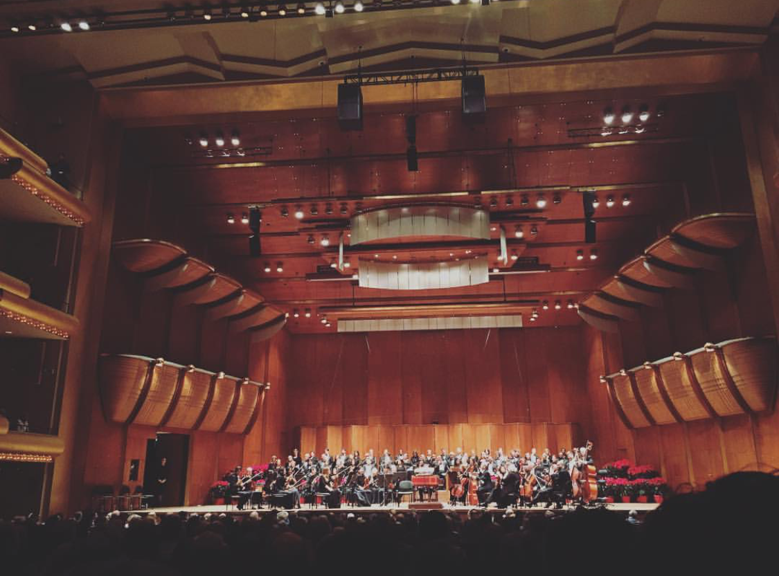 New York Philharmonic at David Geffen Hall, Lincoln Center, New York