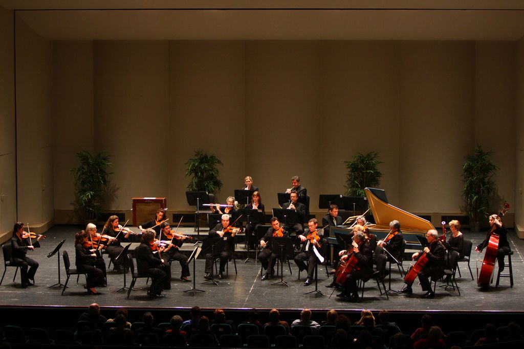 Orpheus Chamber Orchestra on tour
