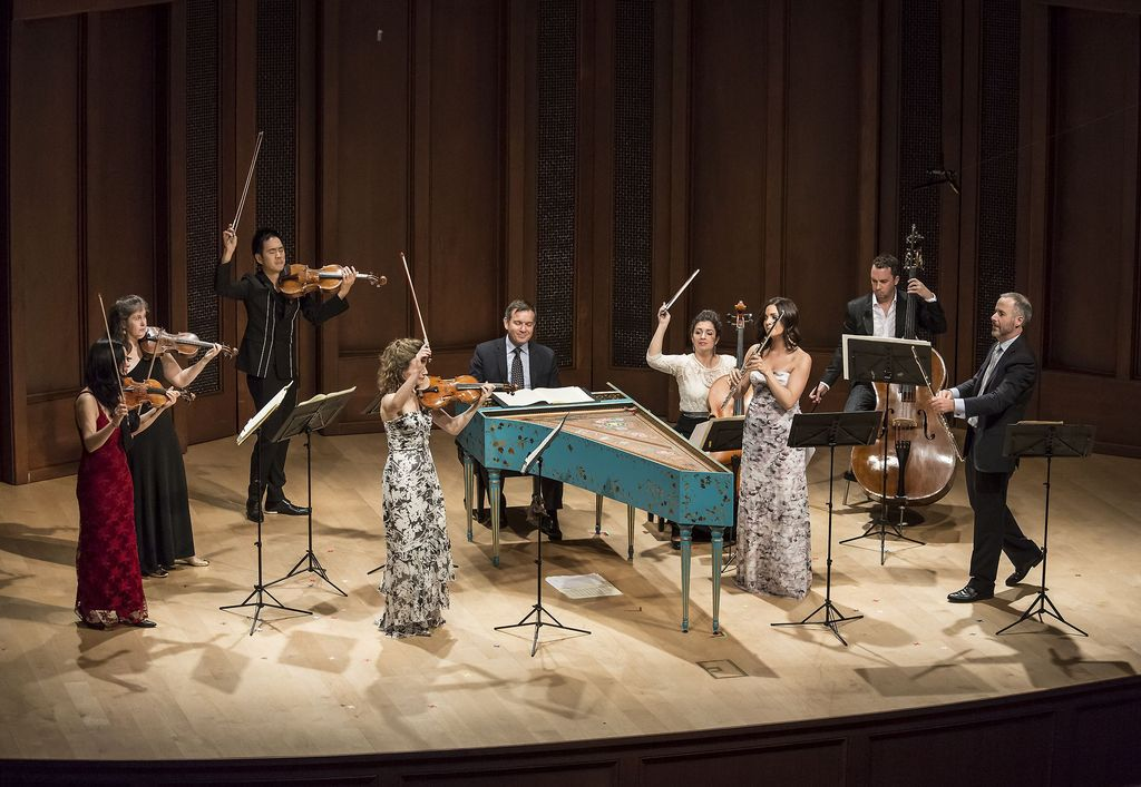 Camerata Pacifica: Bach's Brandenburg Concerti, at Hahn Hall, Music Academy of the West, Santa Barbara, CA.  Photo by David Bazemore.