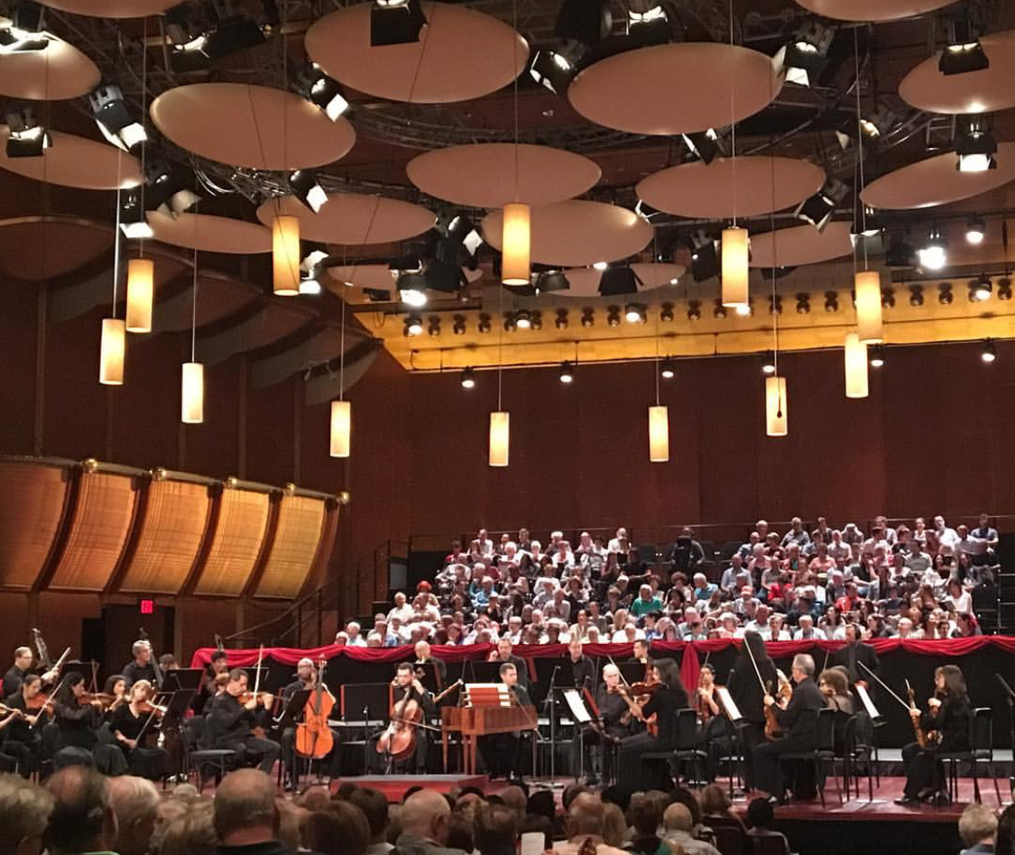 Mostly Mozart Festival Orchestra, at David Geffen Hall, Lincoln Center, New York