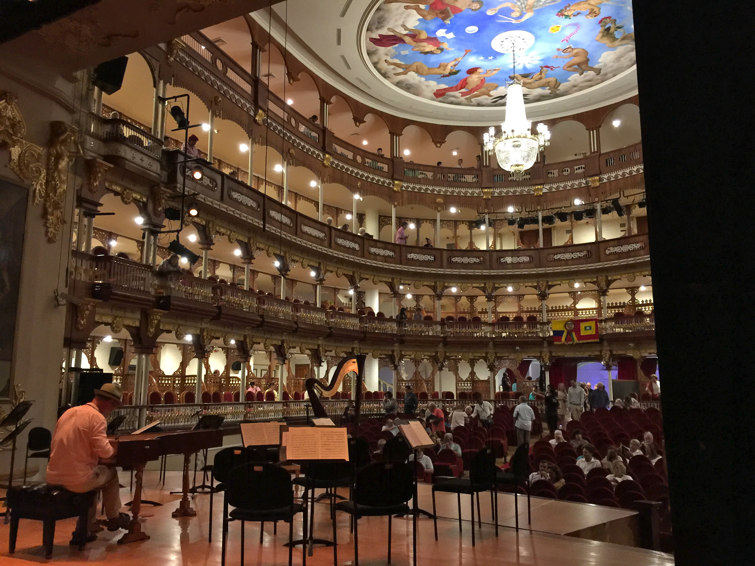 Orpheus Chamber Orchestra in Cartagena, Colombia