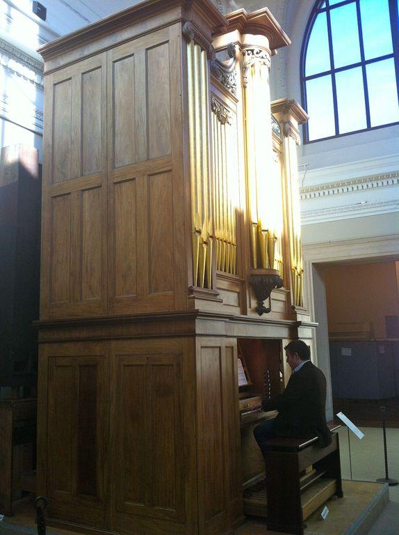 Thomas Appleton organ, 1830,Metropolitan Museum of Art, New York