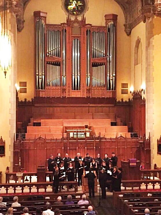 St. Paul's Chamber Choir in concert