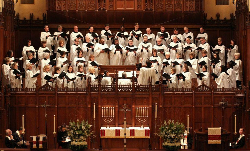 St. Paul's Choir, Easter Day
