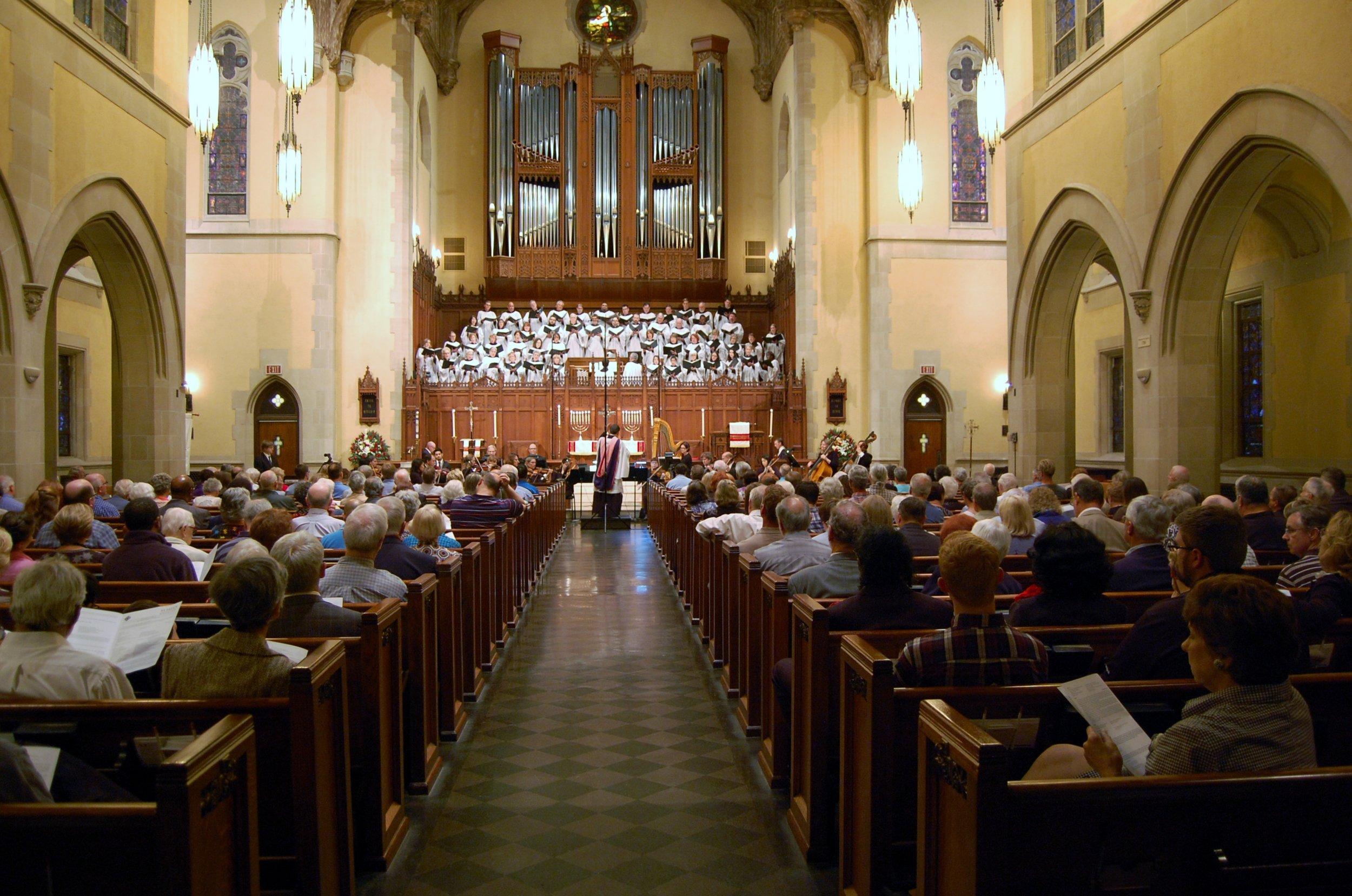 Fauré Requiem,St. Paul's U.M. Church, Houston