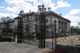 Nemours Mansion-Wilmington, DE  - Historic Exterior Property Gate Restoration Project
