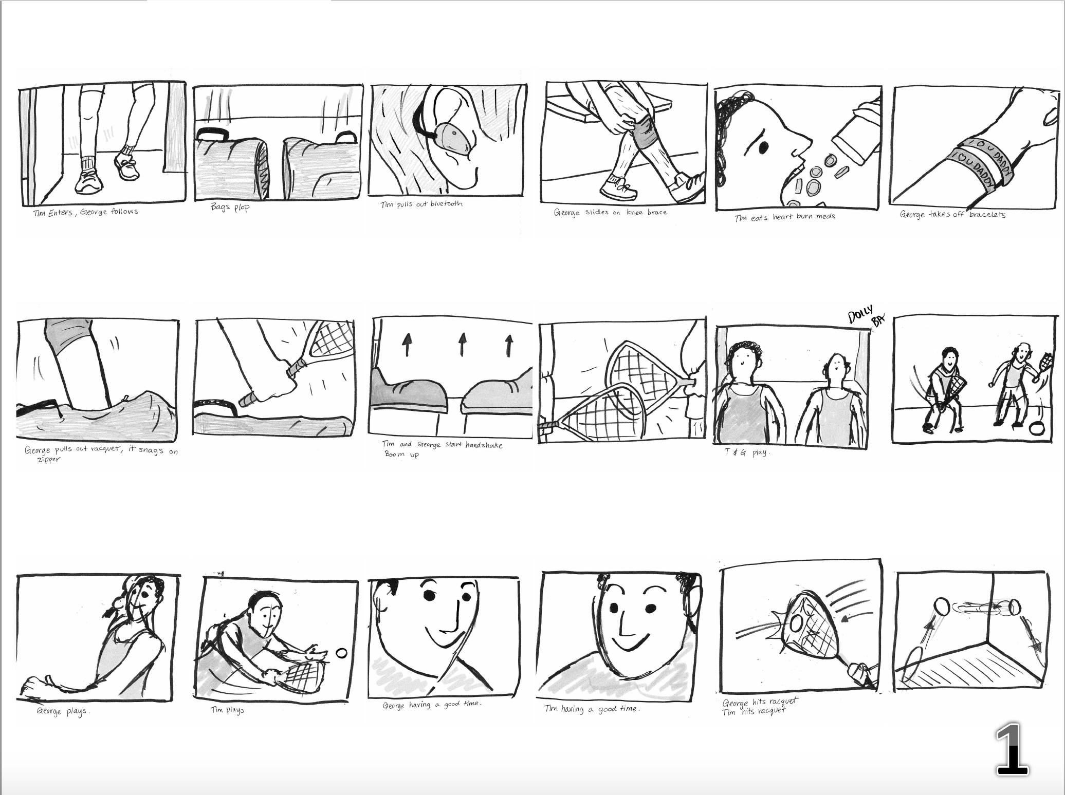 Storyboards by Carlos Douglas Jr.