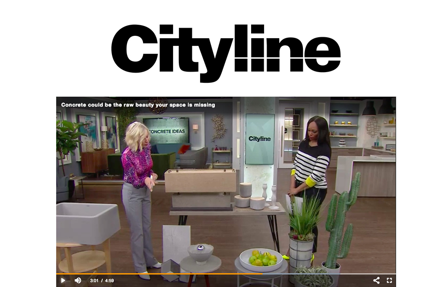Cityline - Jan 2019 - Concrete Furniture