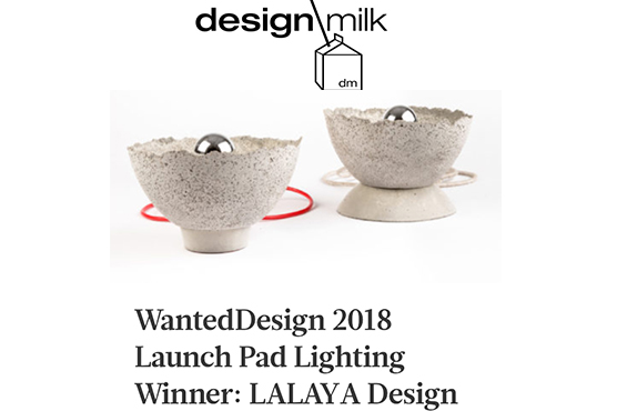 Design Milk - LALAYA Design wins Launchpad Competition