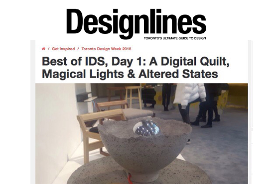 Designlines - Best of IDS 2018 LALAYA Design