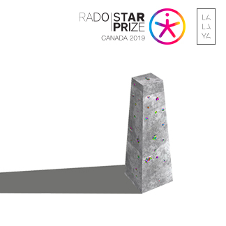 LALAYA Design RADO Star Prize Canada Finalist