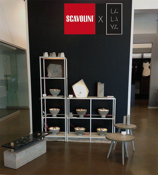 Scavolini x LALAYA pop-up shop - collectible design