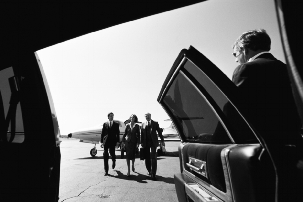 airport pickup for executives and corporate travel