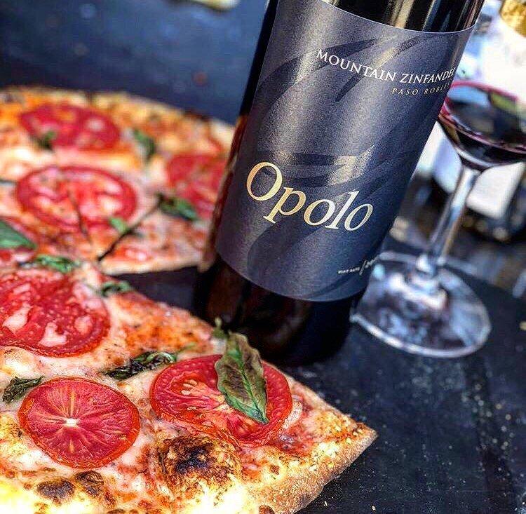 wine in paso robles - opolo
