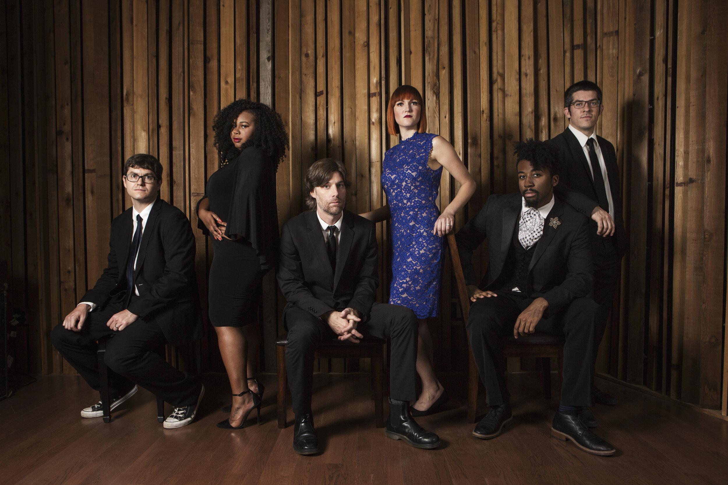 From left: Ryan, Brianna, Ben, Kara, Dominique, Jerry
