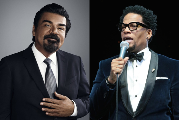 Photos by George Lopez, D.L. Hughley websites