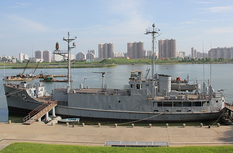 USS Pueblo  Photo by Laika ac Flickr