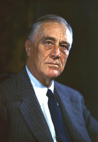 Photo by Franklin Roosevelt Presidential Library and Museum