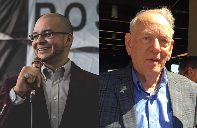 From Left: Steven Rosas (Challenger), Howard Smith (Incumbent)  Photos by Campaigns