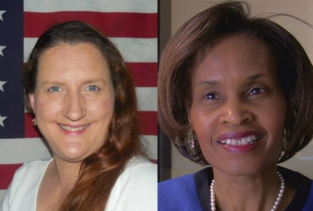 FROM LEFT: Treva L. Harper (Challenger), Freda Powell (Incumbent)