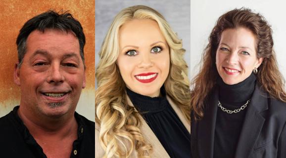 FROM LEFT: Kip Billups (Challenger), Claudette R. Smith (Challenger), Ginger Nelson (Incumbent)