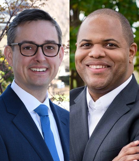 (FROM LEFT): Griggs, Johnson  Photos by Campaigns