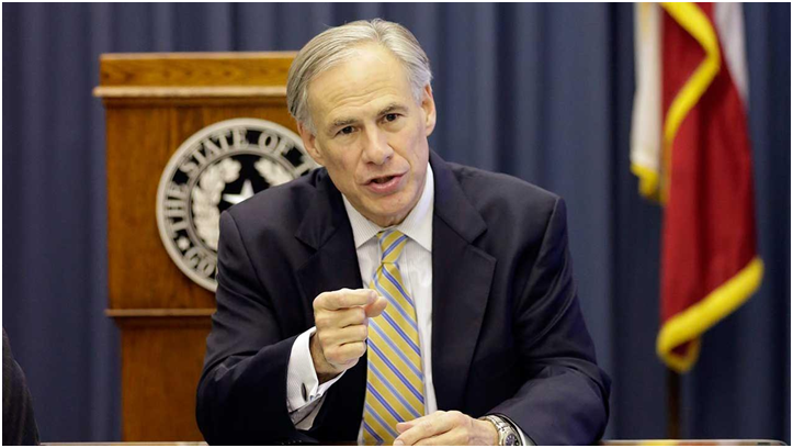 Governor Greg Abbott/Photo by KTRK