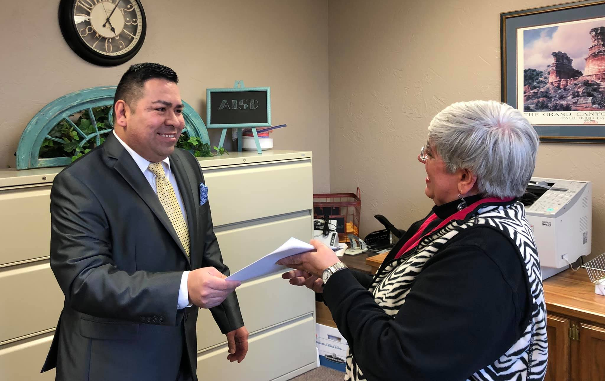 Betancourt files for re-election ahead of the May 4, 2019 election  Photo by Campaign