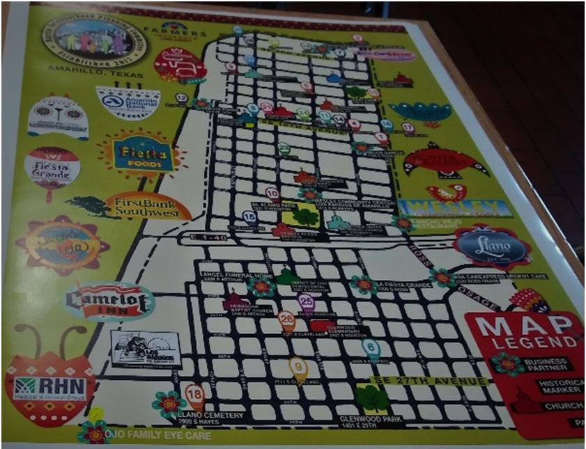 Barrio Map/Provided