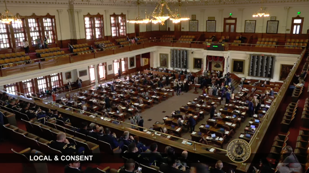 The Texas House in session on April 12, 2019  Photo by Texas House of Representatives Online